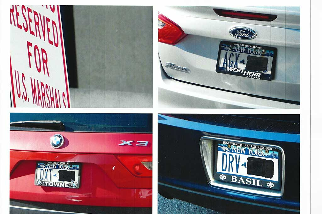 Will you get a ticket if you obstruct your vehicle's license plate?