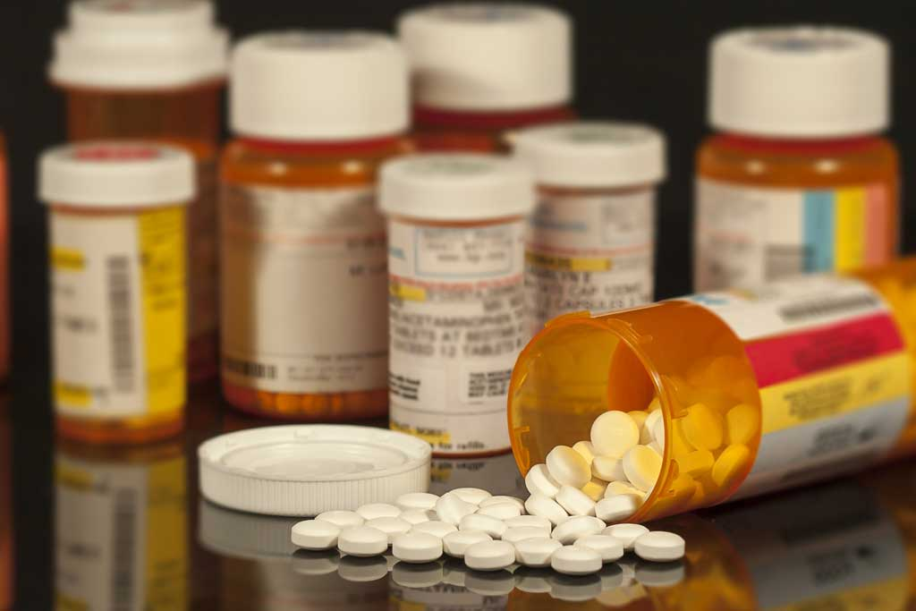 Prescription medication after an injury