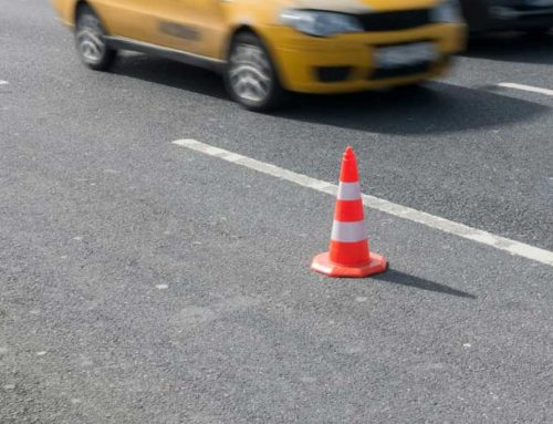 Traffic Accidents In Construction Zones And Near Work Sites