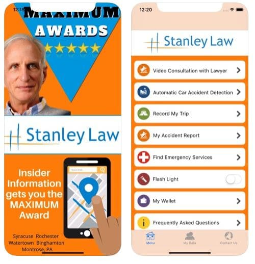 Stanley Law Offices Accident App