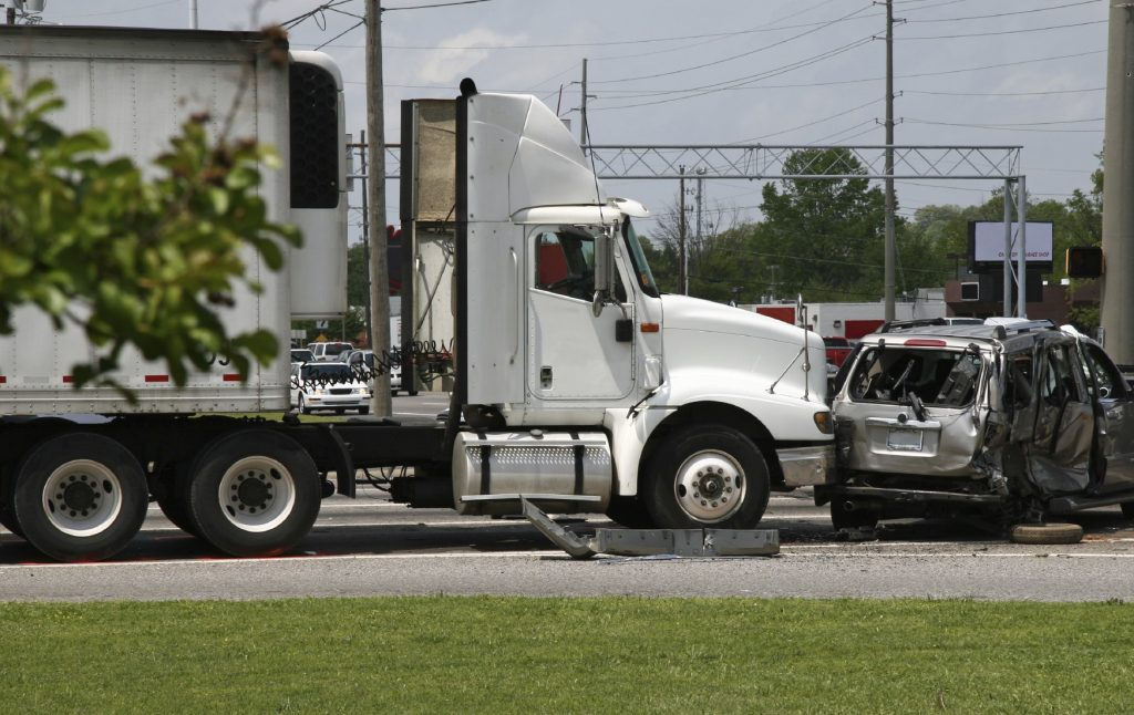After a truck accident you can be confused and angry. What do you do next?