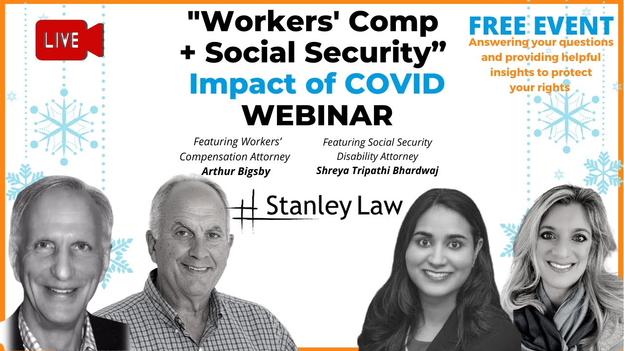 Social Security Disability & Workers' Compensation Claims DUE TO COVID-19