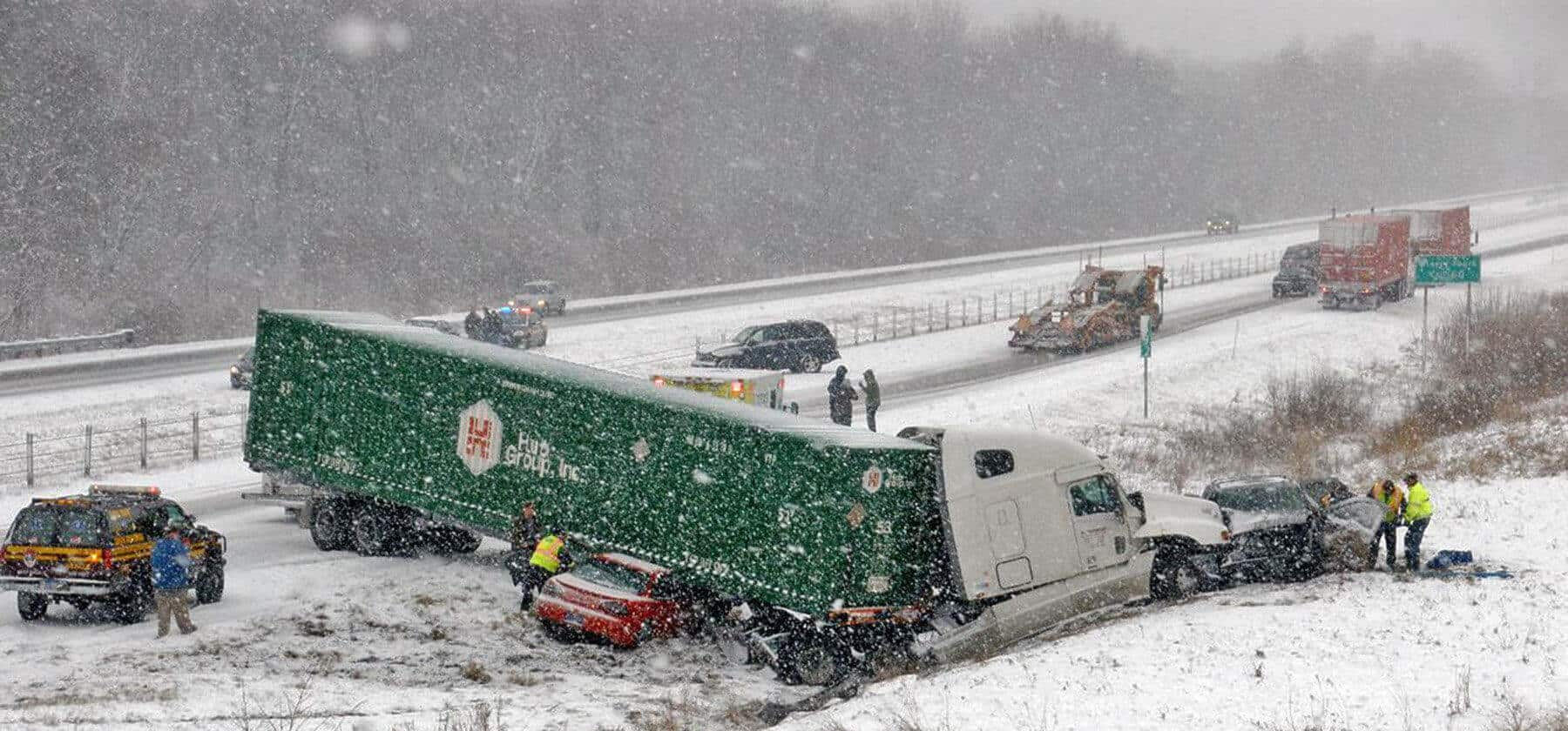 Determining Liability in a Wintertime Truck Accident